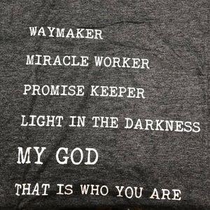 Way maker shirt